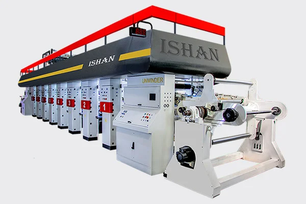 Water Pouches Printing Machine